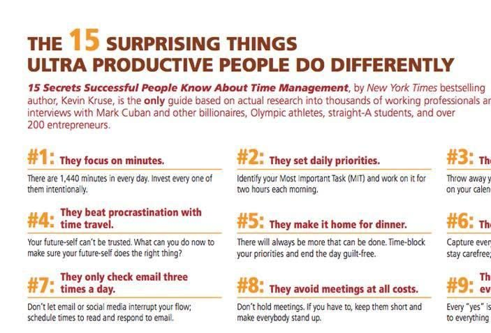 Apple, Failure, Obama, A.I., Productivity & Long-term thinking?