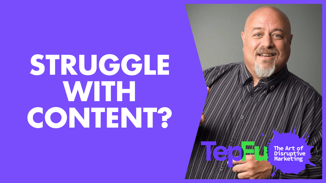 Struggle with content?